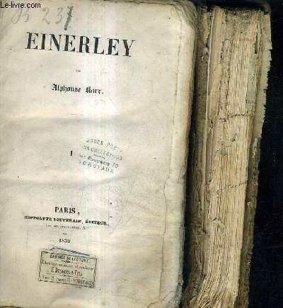 EINERLEY / EN DEUX TOMES / TOMES 1 + 2.
