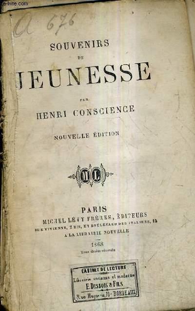 SOUVENIRS DE JEUNESSE / NOUVELLE EDITION.
