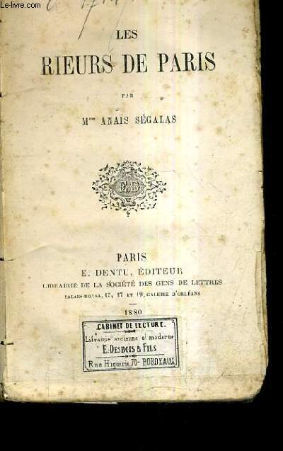 LES RIEURS DE PARIS.