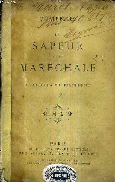 LE SAPEUR ET LA MARECHALE ECHO DE LA VIE PARISIENNE.