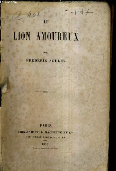 LE LION AMOUREUX.