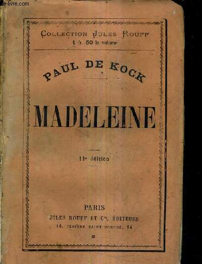 MADELEINE / 11E EDITION.