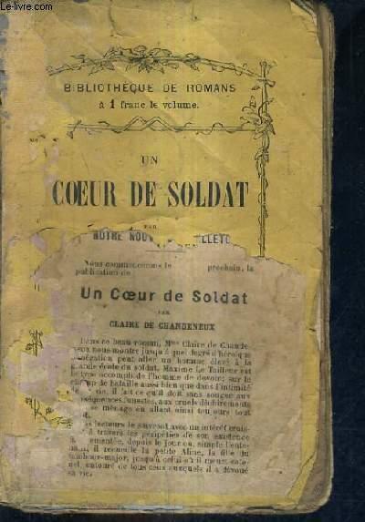 UN COEUR DE SOLDAT.