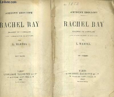 RACHEL RAY / EN DEUX TOMES / TOMES 1 + 2.