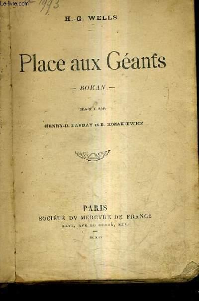 PLACE AUX GEANTS - ROMAN.