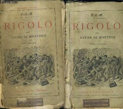 RIGOLO / P.L.M / EN DEUX TOMES / TOMES 1 + 2.