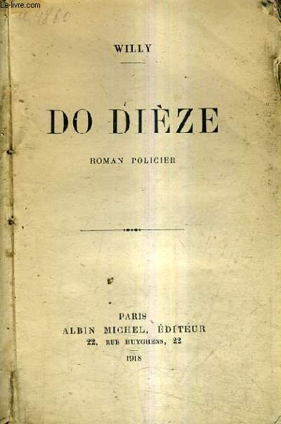 DO DIEZE / ROMAN POLICIER.