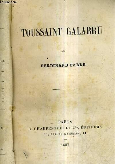 TOUSSAINT GALABRU.