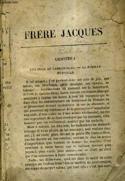 FRERE JACQUES.