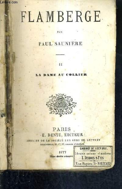 FLAMBERGE / TOME 2 : LA DAME AU COLLIER.