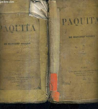 PAQUITA - TOME 2 + TOME 3.
