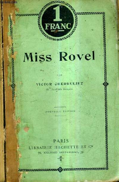 MISS ROVEL / 14E EDITION.