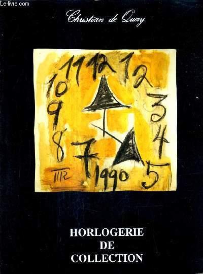 CATALOGUE DE VENTES AUX ENCHERES - HORLOGERIE DE COLLECTION MONTRES DE GOUSSET XVIII XIX XXE SIECLES MONTRES BRACELETS - 10 DECEMBRE 1990 - RICHELIEU DROUOT SALLE 9.