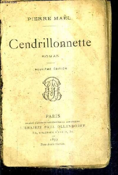 CENDRILLONNETTE / ROMAN / 9E EDITION.