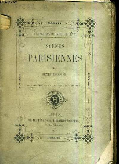 SCENES PARISIENNES / COLLECTION HETZEL ET LEVY.
