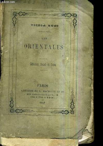 LES ORIENTALES / COLLECTION HETZEL ET LECOU.