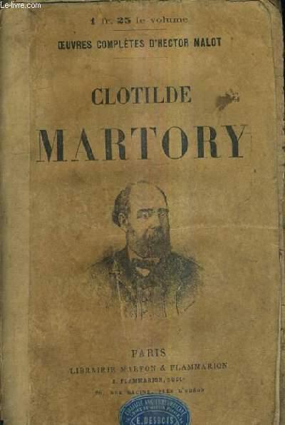 CLOTILDE MARTORY.