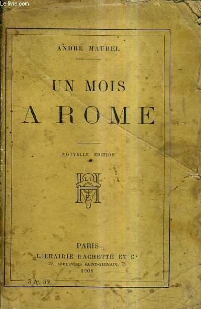 UN MOIS A ROME / 5E EDITION.