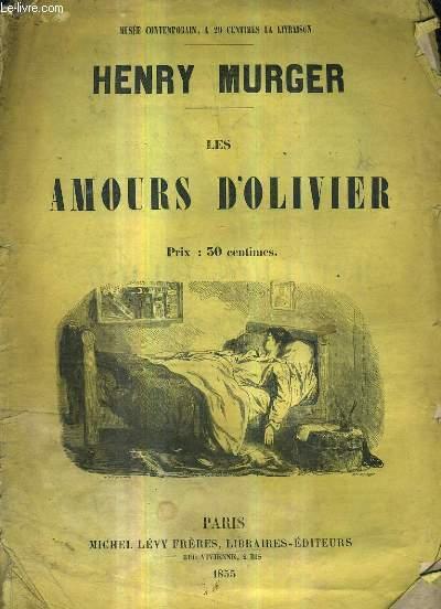 LES AMOURS D'OLIVIER.
