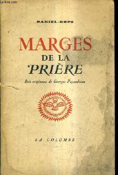 MARGES DE LA PRIERE.