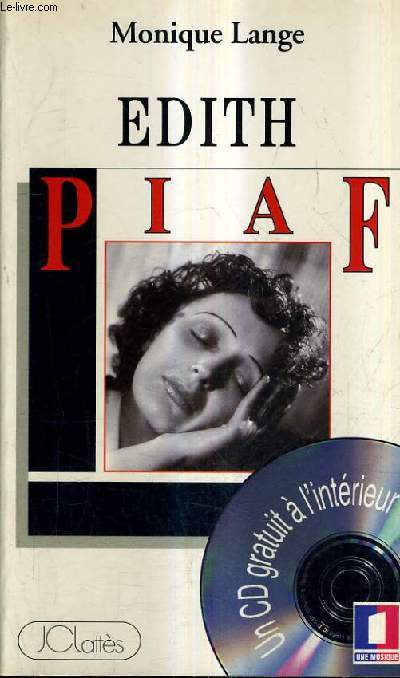 EDITH PIAF - VENDU SANS CD.