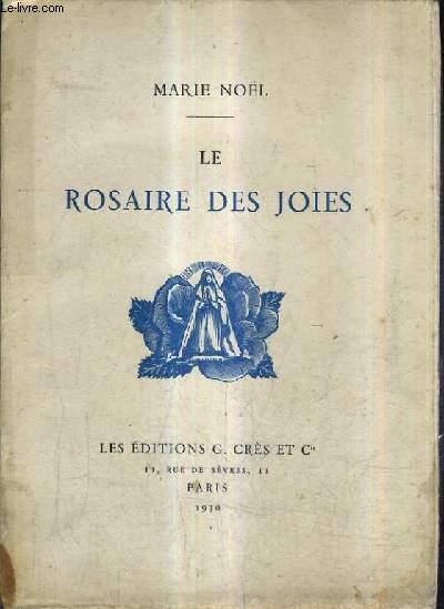 LE ROSAIRE DES JOIES.