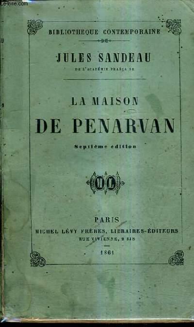 LA MAISON DE PANARVAN / 7E EDITION.