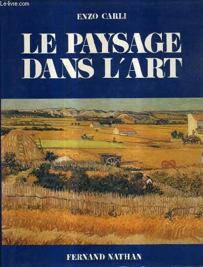 LE PAYSAGE DANS L'ART.