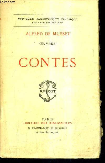 CONTES - OEUVRES - COLLECTION NOUVELLE BIBLIOTHEQUE CLASSIQUE.