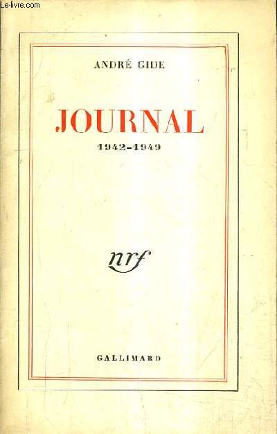 JOURNAL 1942-1949 / 22E EDITION.