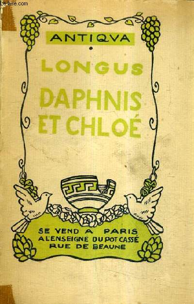 DAPHNIS ET CHLOE / COLLECTION ANTIQUA.