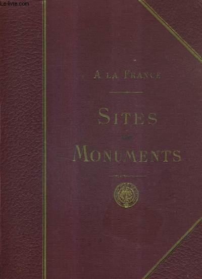 A LA FRANCE - SITES ET MONUEMNTS - L'ALSACE LE HAUT RHIN LE BAS RIN.