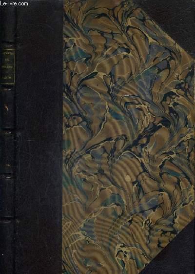 OEUVRES DE MOLIERE / NOUVELLE EDITION REVUE SUR LES PLUS ANCIENNES IMPRESSIONS ET AUGMENTEE DE VARIANTES DE NOTICES DE NOTES D'UN LEXIQUE DES MOTS ET LOCUTIONS REMARQUABLES DE PORTRAITS DE FAC SIMILE ETC PAR EUGENE DESPOIS ET PAUL MESNARD - ALBUM.