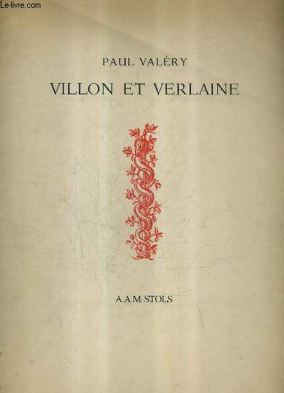 VILLON ET VERLAINE