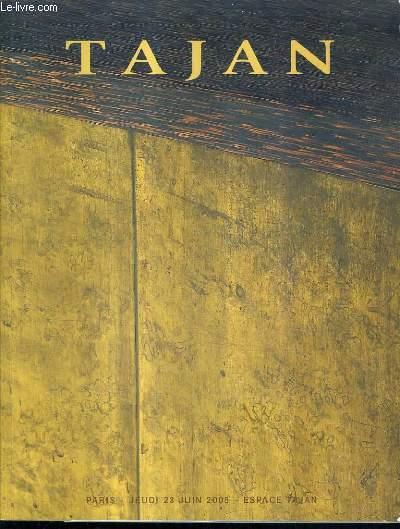 CATALOGUE DE VENTES AUX ENCHERES - ARTS DECORATIFS DU 20E SIECLE - 23 JUIN 2005 - ESPACE TAJAN.