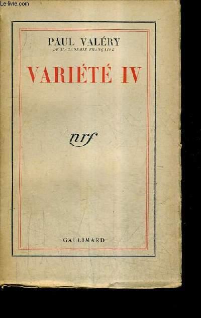 VARIETE IV.