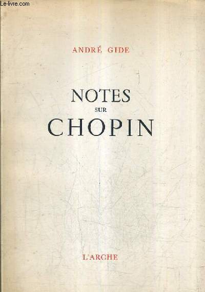 NOTES SUR CHOPIN.