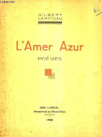 L'AMER AZUR - POEMES.