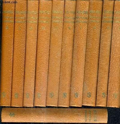 OEUVRES COMPLETES DE MOLIERE / COLLECTION NATIONALE DES CLASSIQUES FRANCAIS / EN 11 TOMES / TOMES 1 + 2 + 3 + 4 + 5 + 6 + 7 + 8 + 9 + 10 + 11.