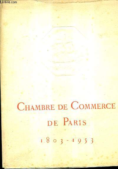 Livres occasion r gionalisme ile de france en stock for Chambre de commerce italienne paris