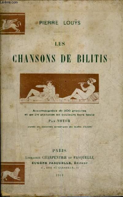 LES CHANSONS DE BILITIS.