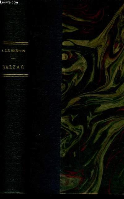 BALZAC L'HOMME & L'OEUVRE / NOUVELLE BIBLIOTHEQUE LITTERAIRE.