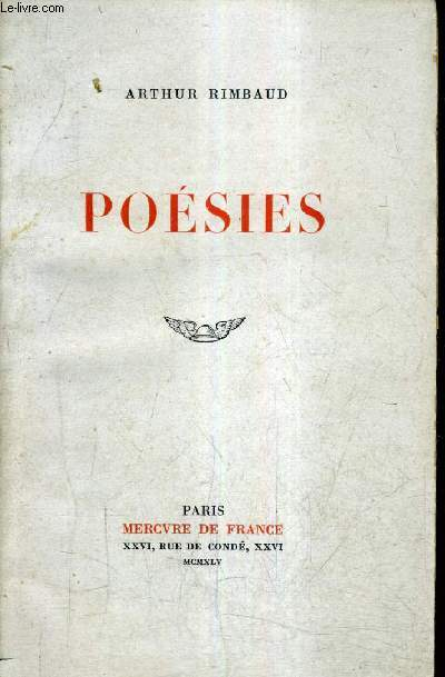 POESIES / 41E EDITION.