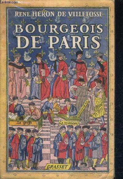 BOURGEOIS DE PARIS.