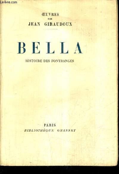 BELLA HISTOIRE DES FONTRANGES.