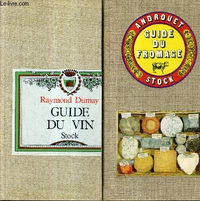 GUIDE DU VIN + GUIDE DU FROMAGE - 2 OUVRAGES SOUS EMBOITAGE.