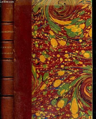POESIES NOUVELLES DE ALFRED DE MUSSET 1836-1852 - NOUVELLE EDITION.