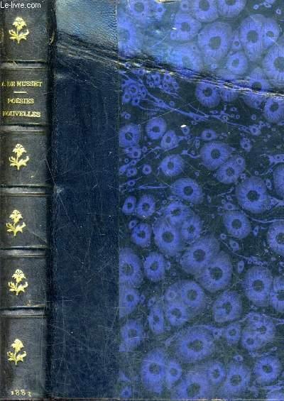 POESIES NOUVELLES 1836-1852 - NOUVELLE EDITION.
