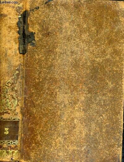 OEUVRES DE M. LE VICOMTE DE CHATEAUBRIAND - ETUDES HISTORIQUES - TOME 3 - NOUVELLE EDITION REVUE ET CORRIGEE AVEC DES NOTES.