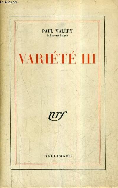 VARIETE III / 42E EDITION.